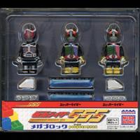 仮面ライダーファイズメガブロックプーピィズ付CD