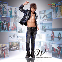 W CD+DVD盤